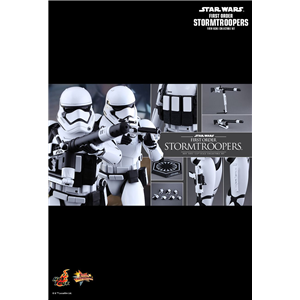 Hot Toys : Star wars mms 319 first order storm trooper 1/6