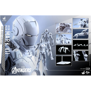 Hot Toys X Chocoolate - Iron Man Mark VI (MK7) Sub zero