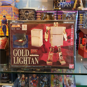 Soul of Chogokin Gx-32 18k Gold Plating LIGHTAN Transformer
