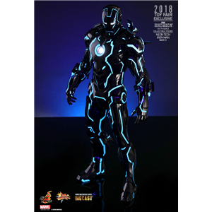 Hot Toys : Iron Man 2 - Neon Tech Iron Man Mark IV 1/6th scale