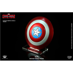 King Arts - KA Scene Series KSS009 1/9 scale Diecast - Captain America shield